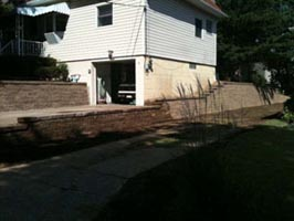 Cranberry retaining walls