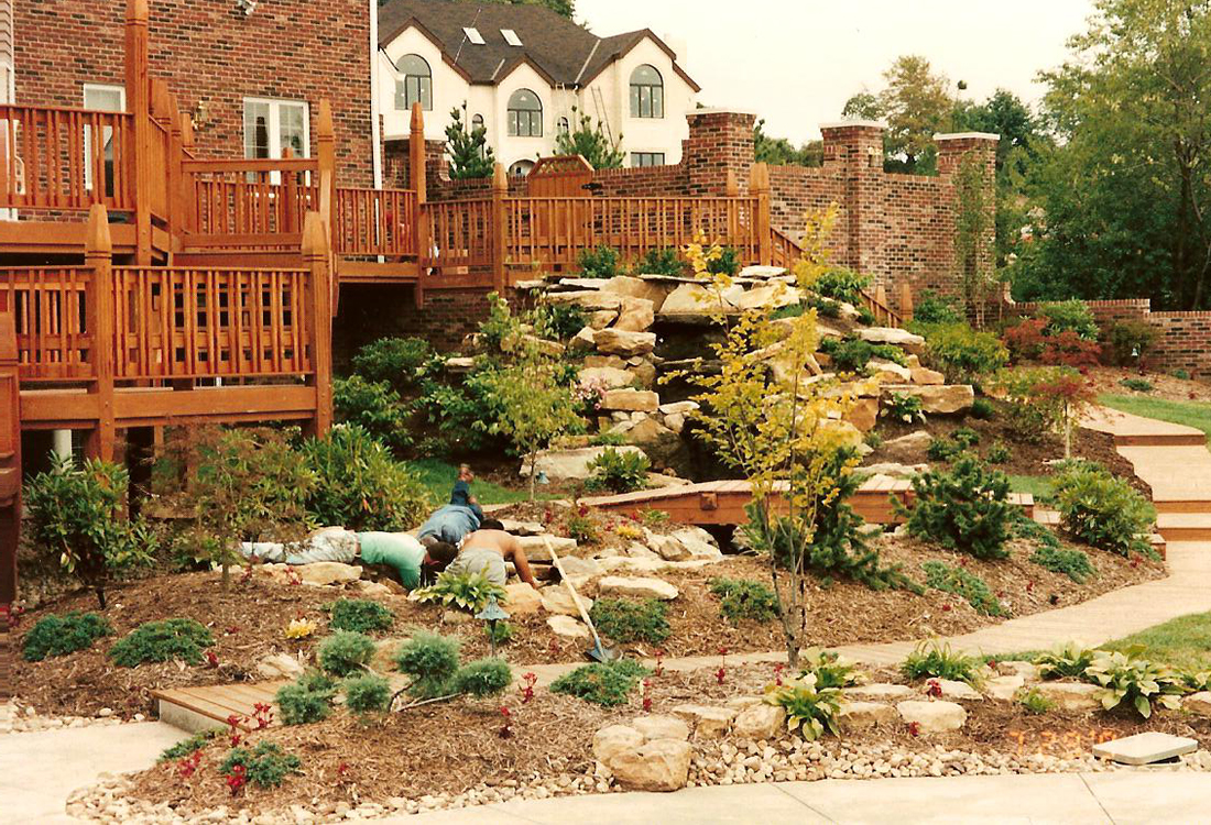Landscape Edging Pittsburgh : Wexford ashley landscaping