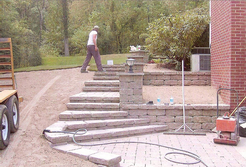 sewickley 15143 landscaping walls pavers mowing concrete